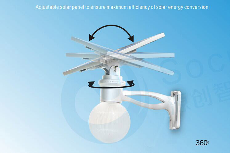 image showing Solar Moon Light with 360 adjustable angle