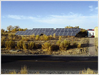 Hade for Desert Highway solar project